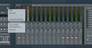 FL Studio Tip Automating Mixer Track Routing