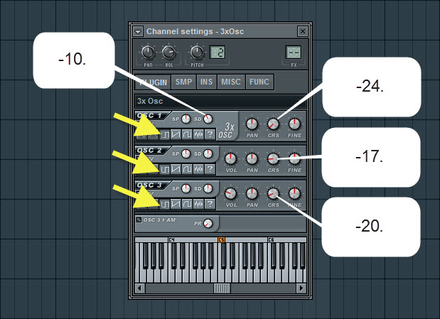 Piano piano chords fl studio : How To Create A House Chord Stab With 3xOsc | How To Make ...