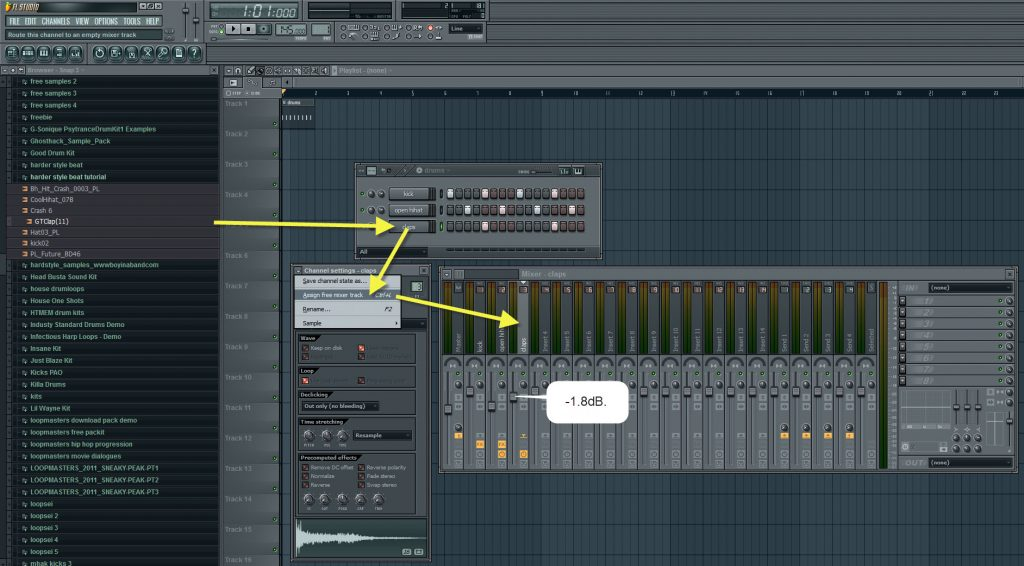 Claps Sequence And Volume Settings