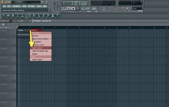 Cloning The Drum Pattern