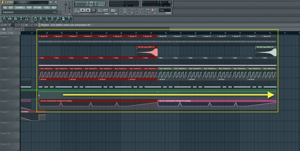 Copying And Pasting A Whole Eight Bars Of Sequence