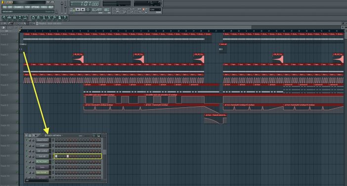 Creating Countdown To The Beginning Of The Beat