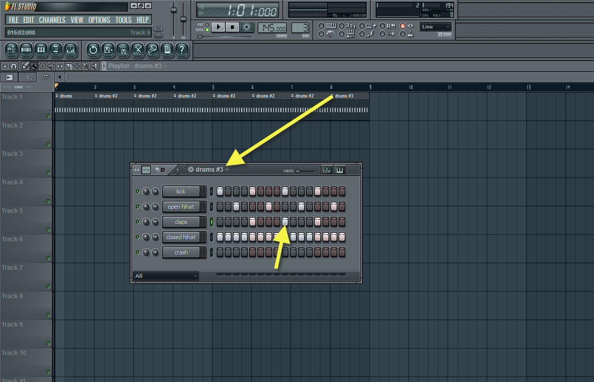 how to use pattern sequencer rsp404sx