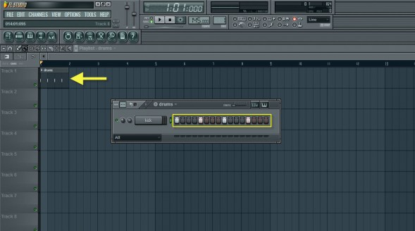 Kick Drum Pattern