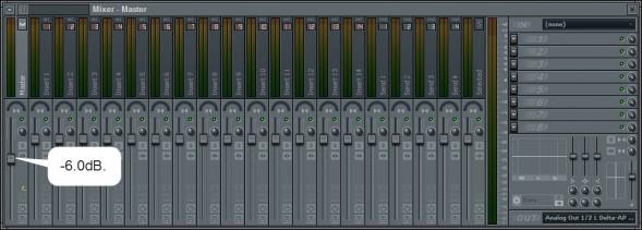 Master Channel Volume