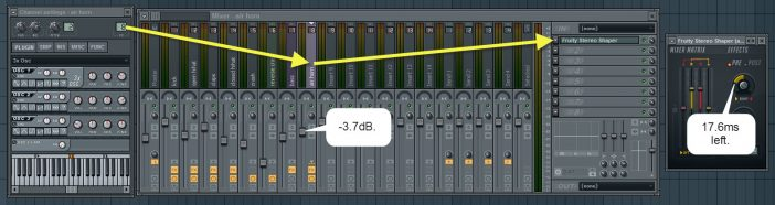 Mixer And Stereo Shaper Settings For Air Horn Sound