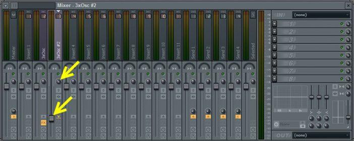 Second Method Noise Mixer Settings