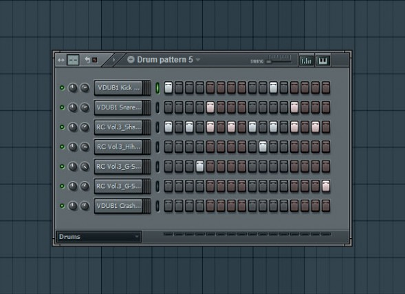 Fifth Drum Pattern