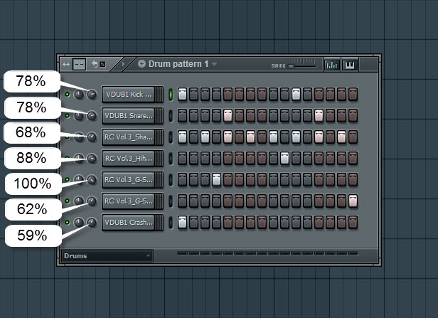 First Drum Pattern