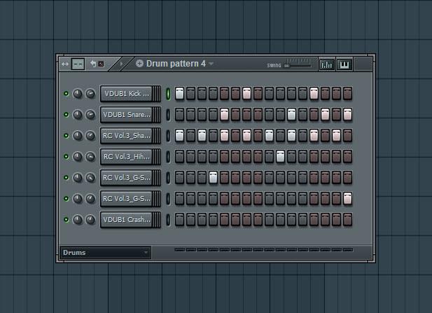Fourth Drum Pattern