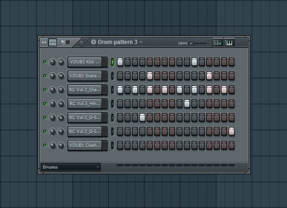 Third Drum Pattern
