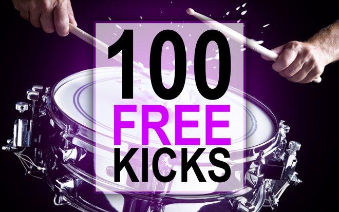 100 Free Kick Samples