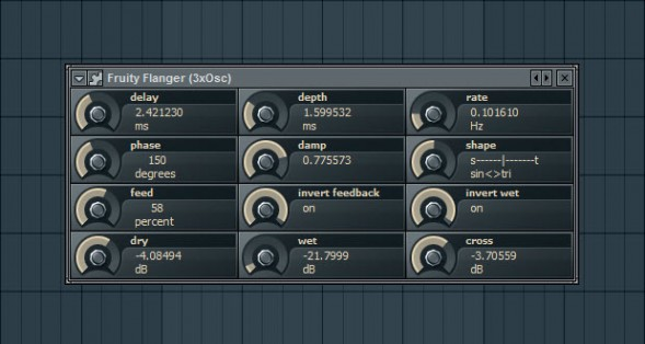 Fruity Flanger For Squeaky