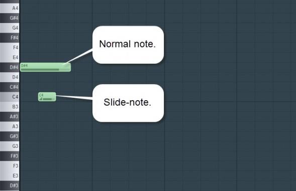 Sliding Notes
