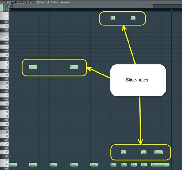 how to fix lengh of notes in fl studio