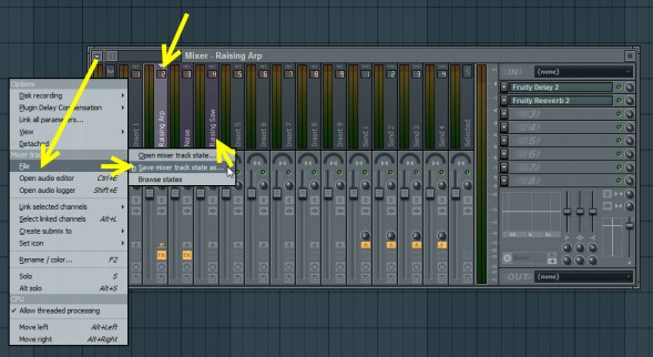 Copy And Paste Mixer Track State