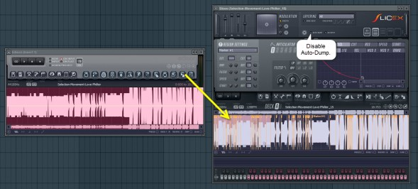 Dumping Recording To Slicex