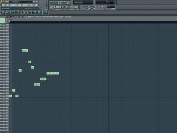 Glitch Sequence In Piano Roll
