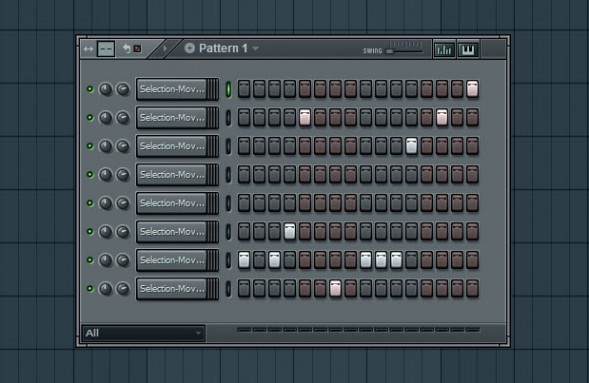 Glitch Sequence In Step Sequencer