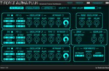 T-Force Alpha Plus   Great Free Trance Synth!