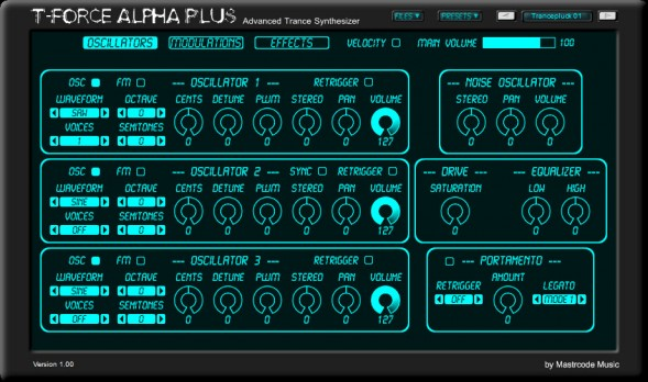 T-Force Alpha Plus | Great Free Trance Synth!