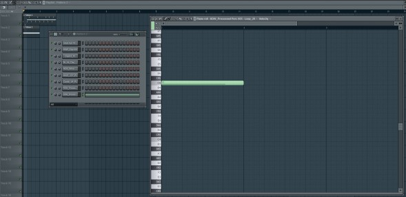 C5 In The Bass Sound Piano Roll