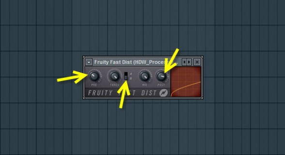 Fruity Fast Dist Settings For The Bass