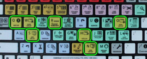 More Color Grouped Keys