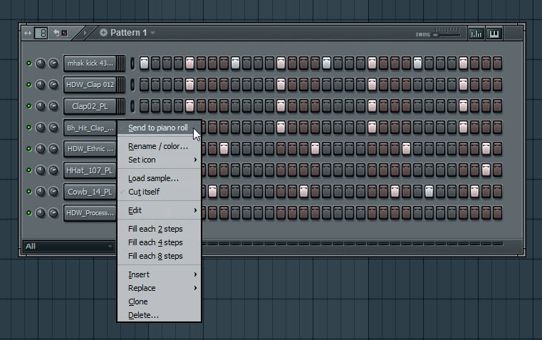 Walkthrough To An EDM Drum Loop