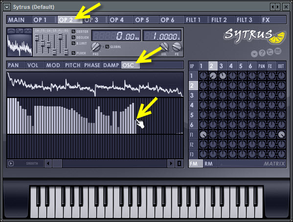 Experiment With The Harmonics Of The Modulating Operator