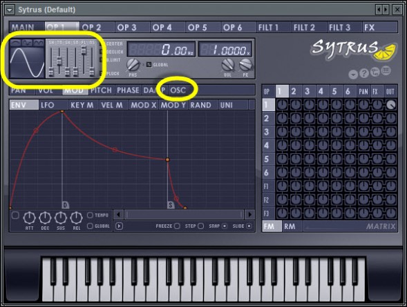 Oscillator Shape Modifiers