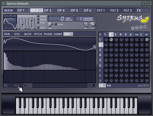 Smooth The Harmonics In Operator 2