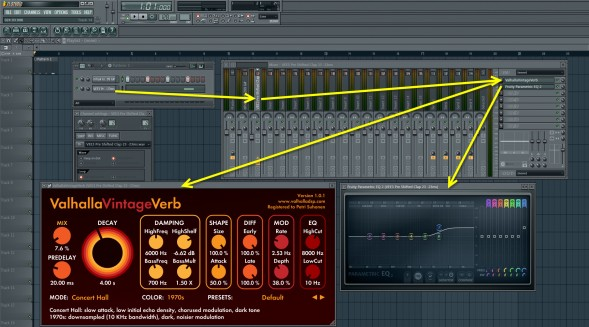 Reverb And EQ Settings For The Clap