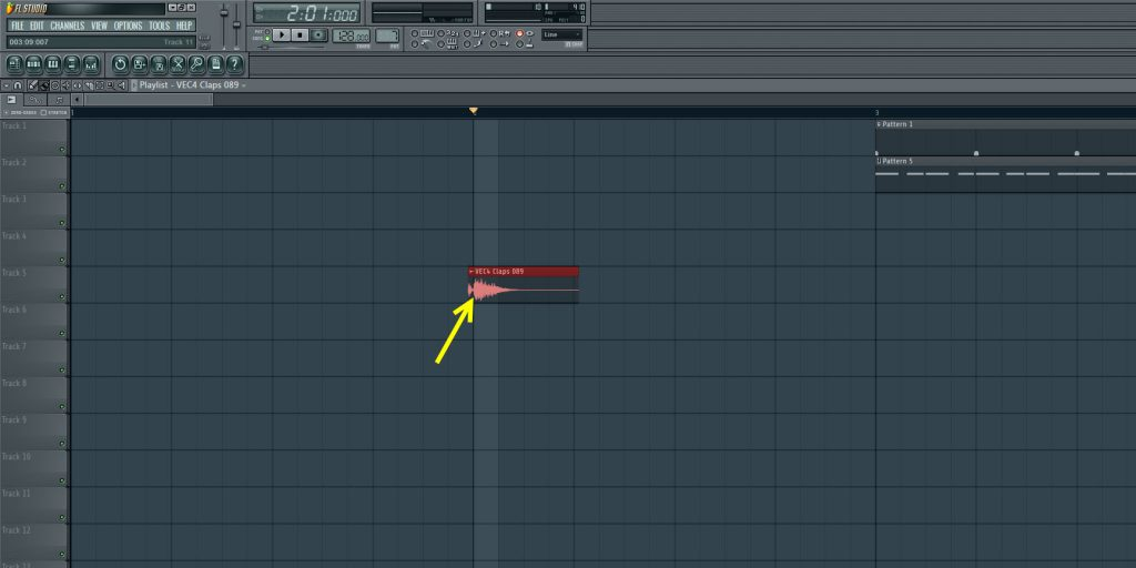 Aligning The Clap Sample