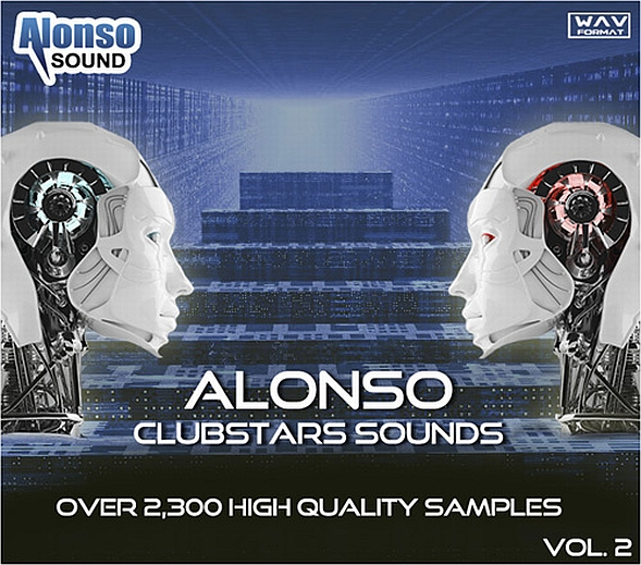 Alonso Sound Releases Clubstars Sounds Vol. 2 Sample Library