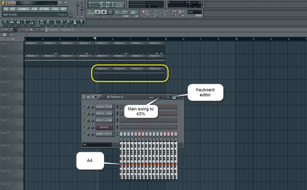 Synth Pattern