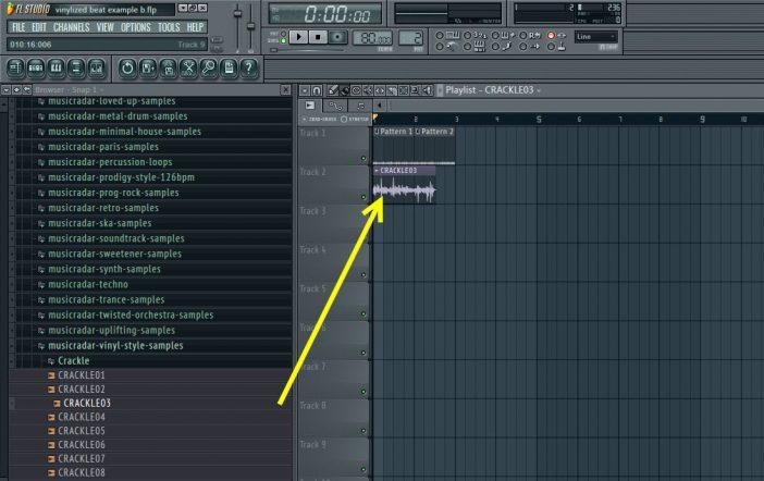 Musicradar Crackle Sample