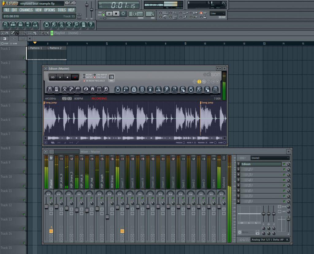 Record Beat To Audio