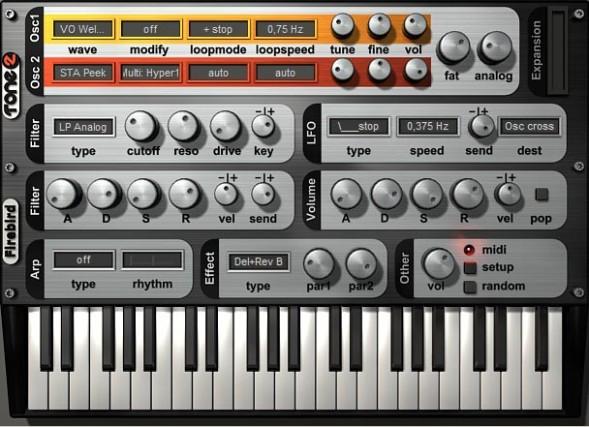 Tone2 Firebird 2 Is Now Freeware!