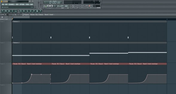 Manual Frequency Level Dip Via Automation Clip