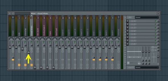 Mix In Closed Hihat