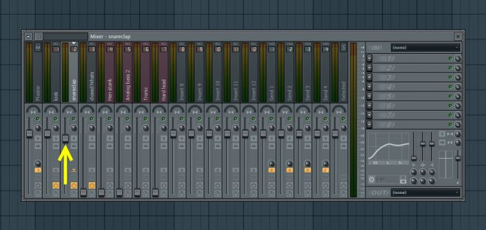 Mix In Snare