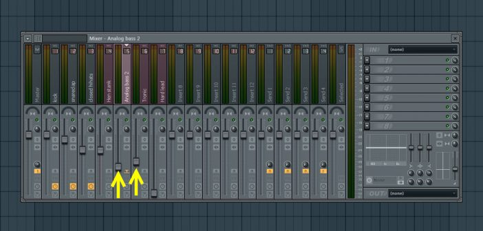 Mix In Supporting Sounds For Bass
