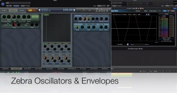 Zebra – Oscillators & Envelopes Masterclass Special Deal!
