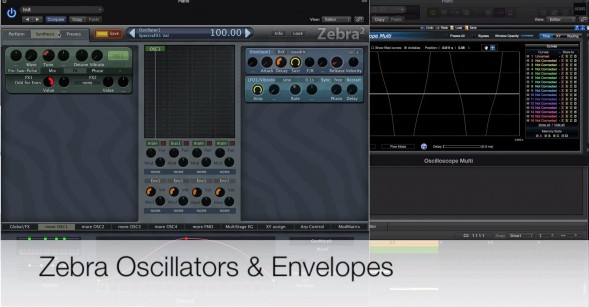 Zebra – Oscillators & Envelopes Masterclass | Special Deal!