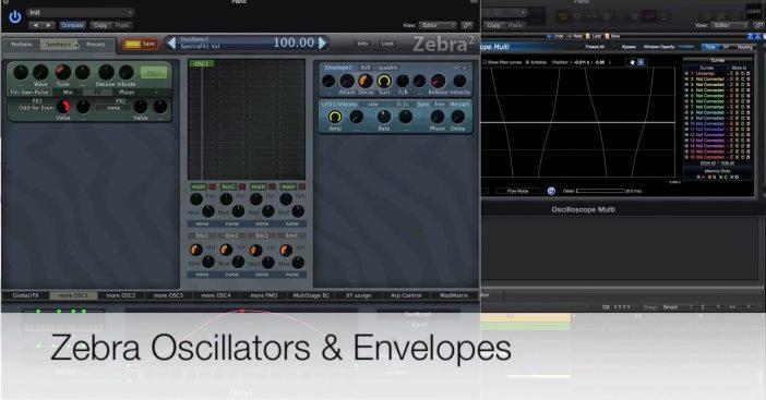 Zebra – Oscillators & Envelopes Masterclass Special Deal!