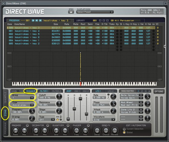 DirectWave Playback Trigger