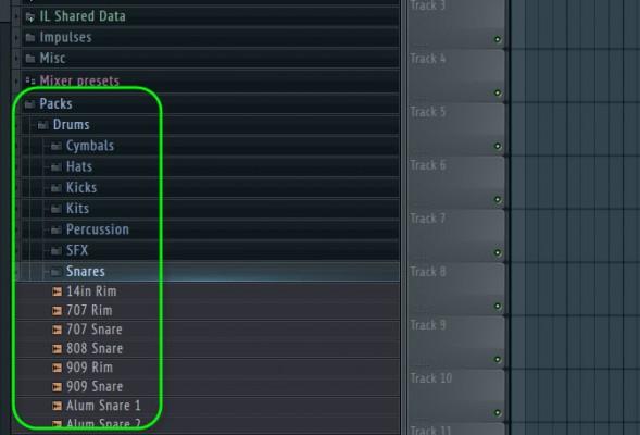 Choose Snare Sample