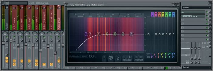 Roll Off The Lows Using High Pass Filter