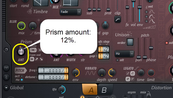 Prism Settings